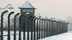 Das ehemalige Massenvernichtungslager Auschwitz-Birkenau in Polen