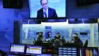 Francois Hollande beim französischen Radiosender Europe1