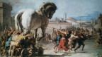 Die Ilias, das älteste vollständig erhaltene Werk der Weltliteratur, erzählt von dem trojanischen Krieg.