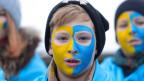 In einer Umfrage sagten nur 14 Prozent der befragten Ukrainerinnen und Ukrainer, ihr Land entwickle sich in die richtige Richtung.