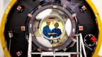 Zwei Taikonauten beim Training im Weltraumlabor.