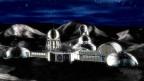 Der neue Traum vom Mond: Entwurf einer Mondbasis.