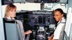 Regula Eichenberger denkt gerne an diesen Flug mit Irene Helbongo: «Viele Passagiere haben uns die Hand geschüttelt.»