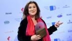 Eva Mattes bei der Verleihung des Deutschen Hörspielpreises 2018