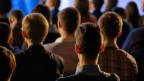 Gebannt lauschendes Publikum
