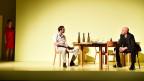Szene aus Ewald Palmetshofer «Vor Sonnenaufgang» im Theater Basel
