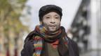 Mohamed Wa Baile mit weiss bemaltem Gesicht