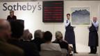 Hodlers «Les Dents-du-Midi» bei einer Sotheby's Auktion