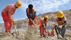 Bauarbeiten am Staudamm in Äthiopien