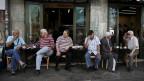 Strassenszene in Athen.