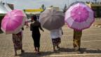 Vier Frauen in Ruanda