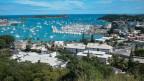Ausblick über den Hafen von Nouméa