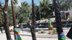 Ein Monument in Neukaledonien, das an Aufstände erinnert, bei denen im Jahr 1988 Einwohner von der französischen Armee getötet wurden.