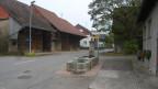 Das Dorfzentrum von Volken