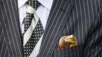 Ein typisches Accessoire: Die Krawatte