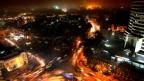 Neu Delhi bei Nacht
