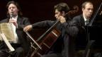 Reto Bieri, Jerome Ducros und Gautier Capucon Festival am «Young Artist in Concert» 2001 in Davos