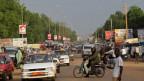 Strassenszene in Niamey
