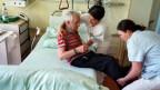 Pflegerinnen bei der Arbeit