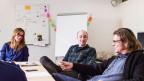 Simone Schmid (l.) und Dominik Bernet (r.) haben bereits beim «Bestatter» zusammengearbeitet.