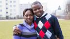 Frau mit Mann