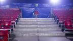 Blick in einen leeren Zirkussaal