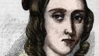 Koloriertes Bild einer Frau aus dem 19. Jahrhundert