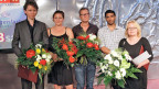 Die Preisträger in Klagenfurt, ganz links Michael Fehr.
