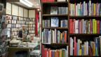 Bücher in einer Bücherei.
