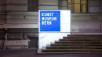 Das Kunstmuseum Bern bei Nacht.