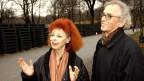 Künstler-Duo und Ehepaar: Christo und Jeanne-Claude 2005 im Central Park in New York