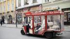 Eine Touristen-Tour durch das jüdische Viertel Kazimierz in Krakau.