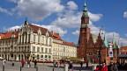 Der Marktplatz von Breslau.