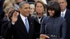 Das amerikanisches Traumpaar: Präsident Barack Obama und First Lady Michelle.