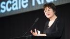Pascale Kramer bei der Verleihung des Schweizer Literaturpreises