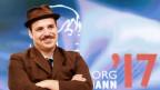 Ferdinand Schmalz bei der Verleihung des Bachmann-Preis