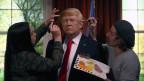 Kulturfeindlich: Trump will die angekündigte Steuerreform umsetzen.