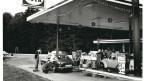 Die Autobahnraststätte Kölliken Nord in den siebziger Jahren