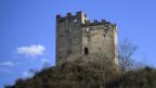 Fotografie der alten Burgruine Wartau