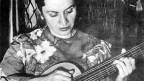 Violeta Parra in París im Jahr 1953.
