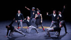 Tänzer auf der Bühne.