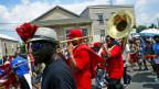 Symbolbild: Bläser in den Strassen von New Orleans.