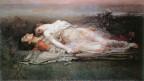 Tristan und Isolde, gemalt von Rogelio de Egusquiza (1845–1915).