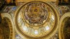 Deckgemälde eines Doms aus der Barockzeit