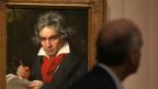 Ein Gemälde von Ludwig van Beethoven