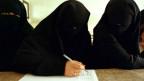 Frauen beim Wählen in Jemen