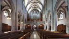 Einblick in die Kirche Fraumünster in Zürich