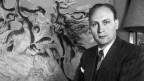 Schwarz-Weiss Foto eines Mannes um die 30ig
