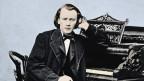 Bild des jungen Johannes Brahms