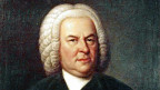Johann Sebastian Bach, porträtiert als 61-Jähriger.